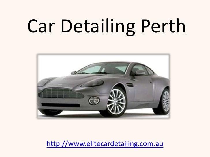 Car Detailing Perth