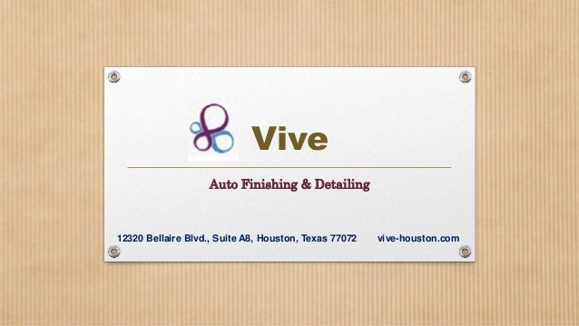 Auto Detailing, Car Detailing, Car Wash and Car Spa in Houston, Texas
