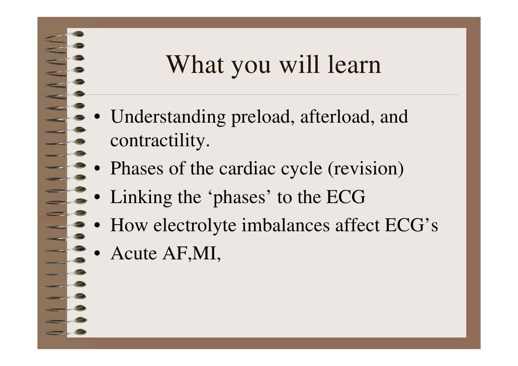 Cardiac Ecg Interpretation