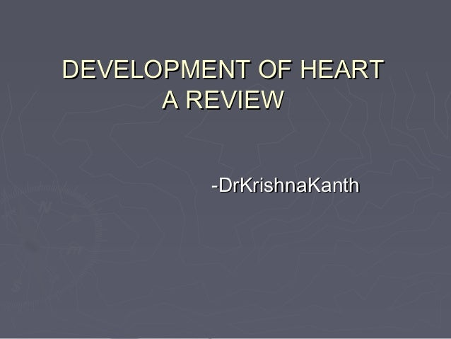 Cardiac embryology seminar   copy
