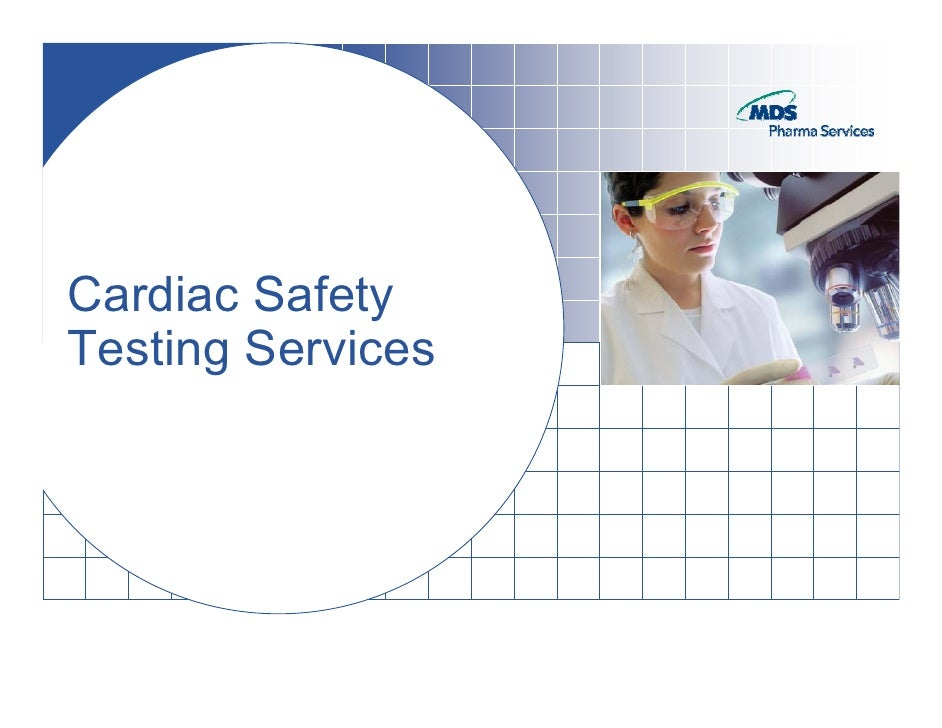 Cardiac Safety Testing Services