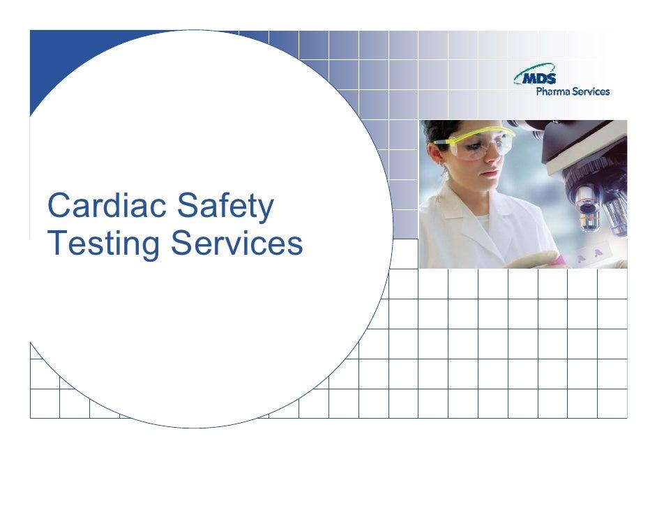 Cardiac Safety Screening 2009