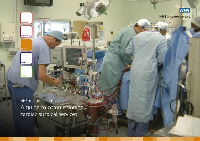 A guide to commissioning cardiac surgical services