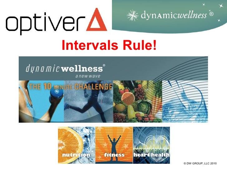 ®Intervals Rule!                  © DW GROUP, LLC 2010