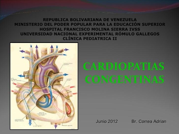 Cardiopatias cogenitas