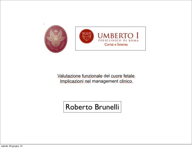 Cardiopatie funzionali Brunelli