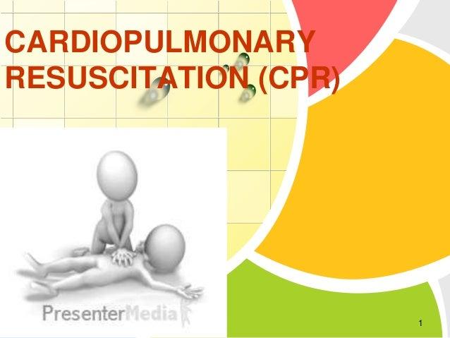 CARDIOPULMONARY RESUSCITATION (CPR)  L/O/G/O  1