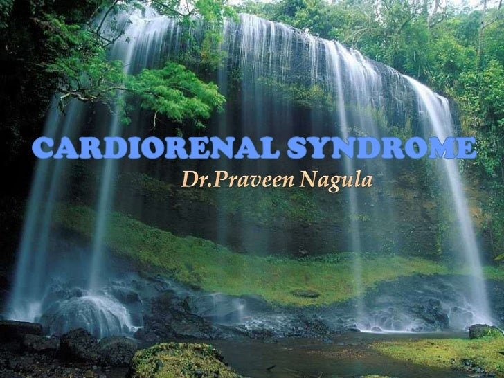 CARDIORENAL SYNDROME<br />Dr.PraveenNagula<br />Dr.Nagula Praveen <br />