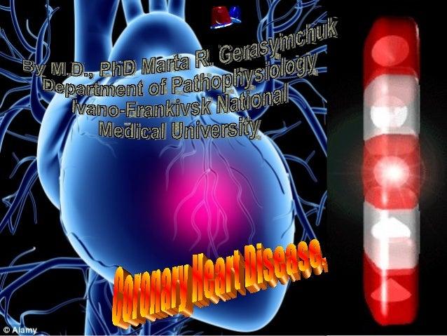 Cardiovascular pathology coronary heart disease finale