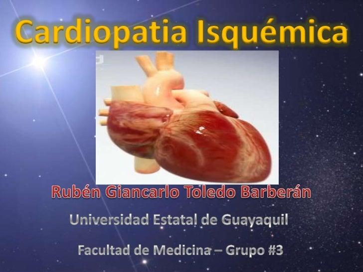 Cardiopatia Isquémica