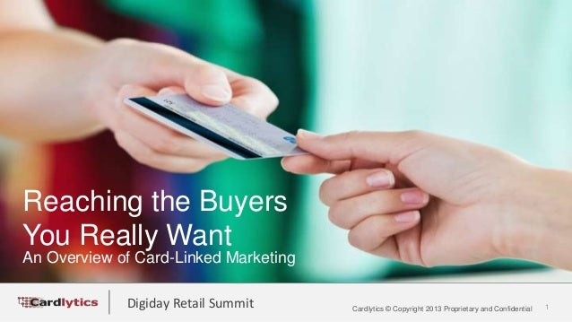 Cardlytics at DRS: Reaching the Buyers You Really Want