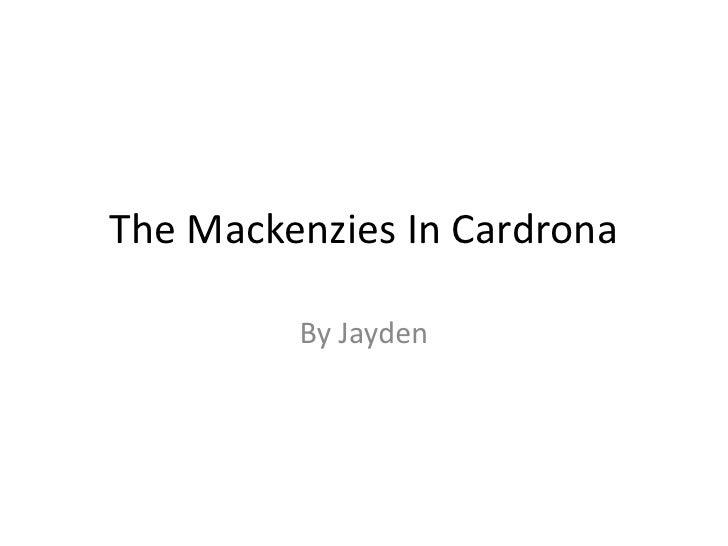 The Mackenzies In Cardrona <br />By Jayden<br />