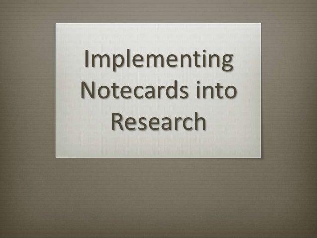 Cards to Paragraphs w/Parenthetical Citations