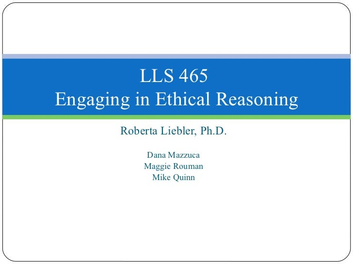 Care Based Ethical Reasoning