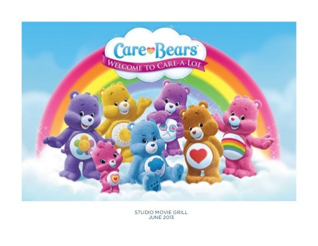 SMG Toons April 2013 Marketing Report:  Care Bears