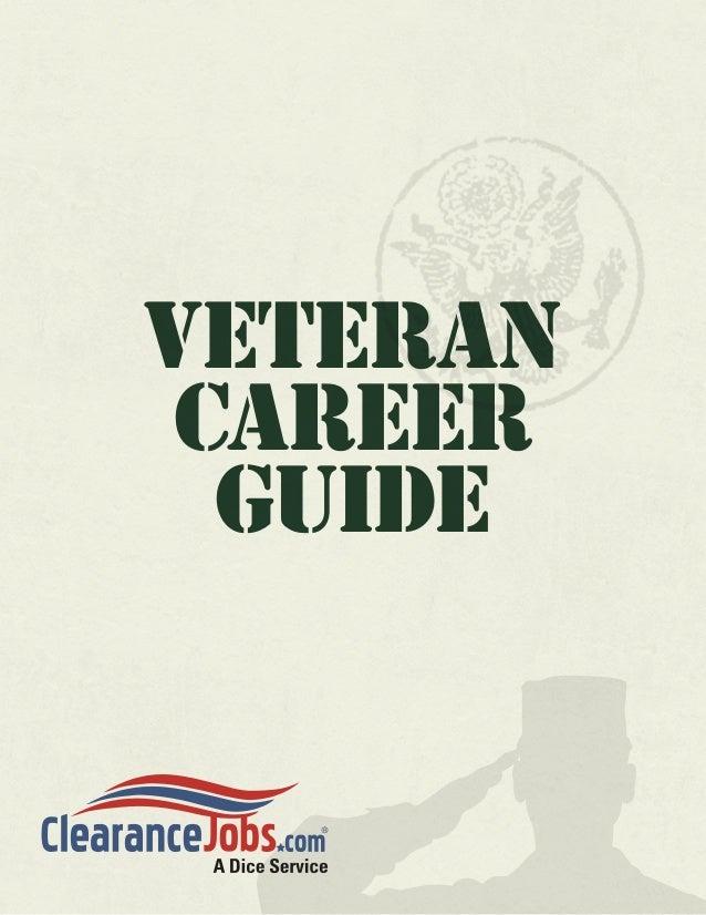 Veteran Career  Guide