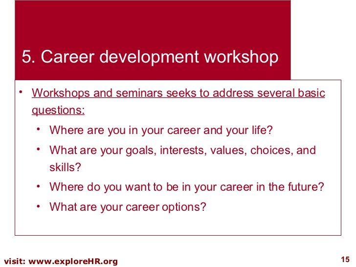 career planning and development Home career planning career planning graduate career planning  personal  development planning (pdp) is about making your time and effort work for you.