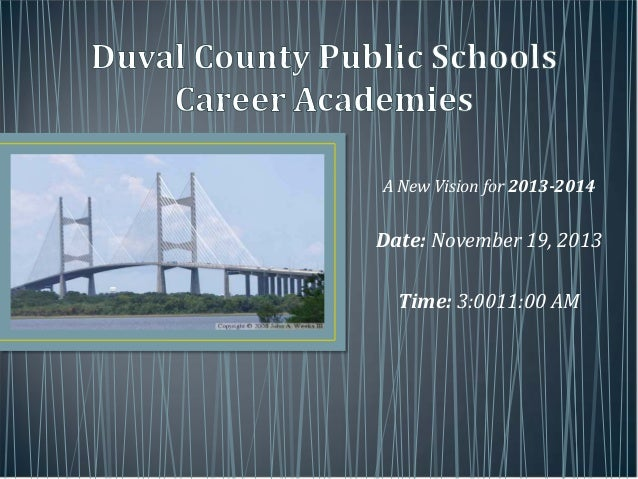 DCPS Career Academies & JAX Chamber Partnership