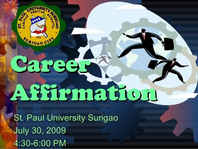 Career affirmation 09