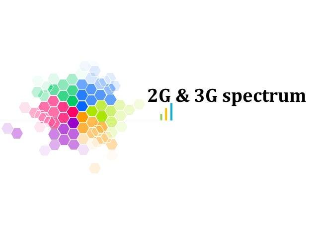 2G & 3G spectrum