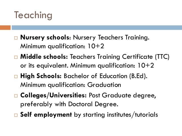 Career Options - Counsellor or High School teacher?