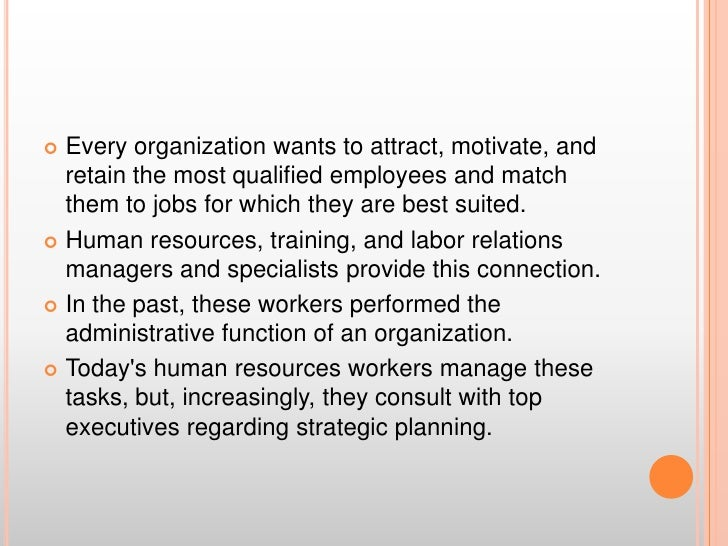 Every organization wants to attract, motivate, and retain the most qualified employees and match them to jobs for which th...