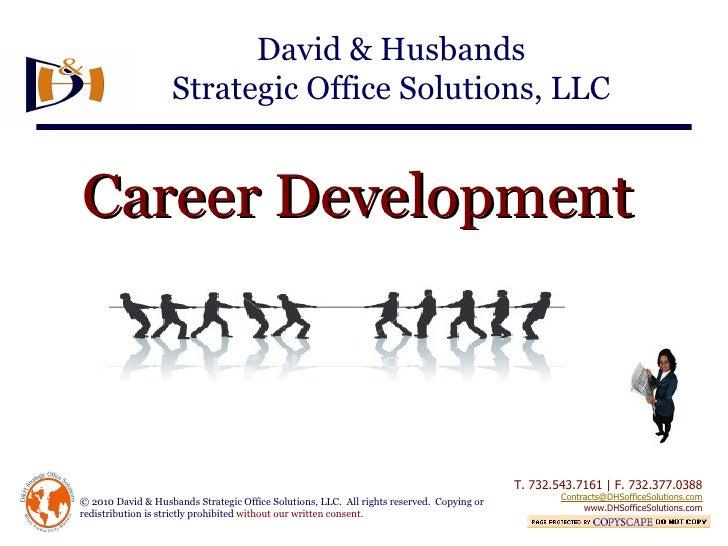 David & Husbands - Career Development