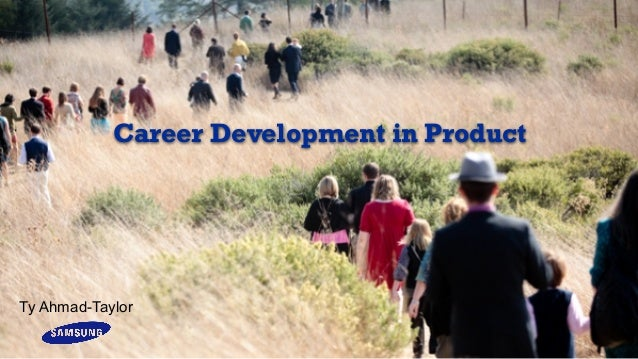 Career development in software product development and management
