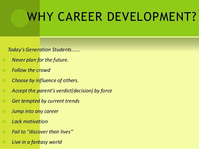 career development research paper Jump to content log in | register | help | help .