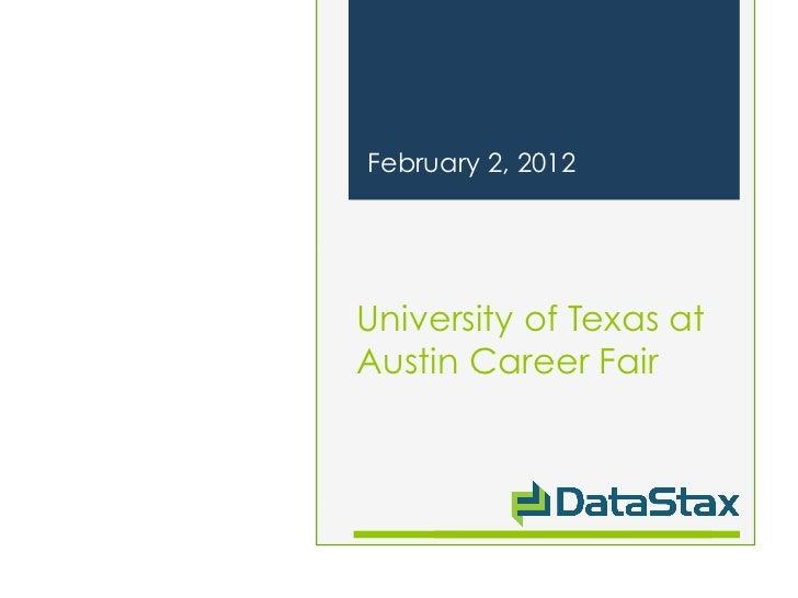 UT Career Fair 2012