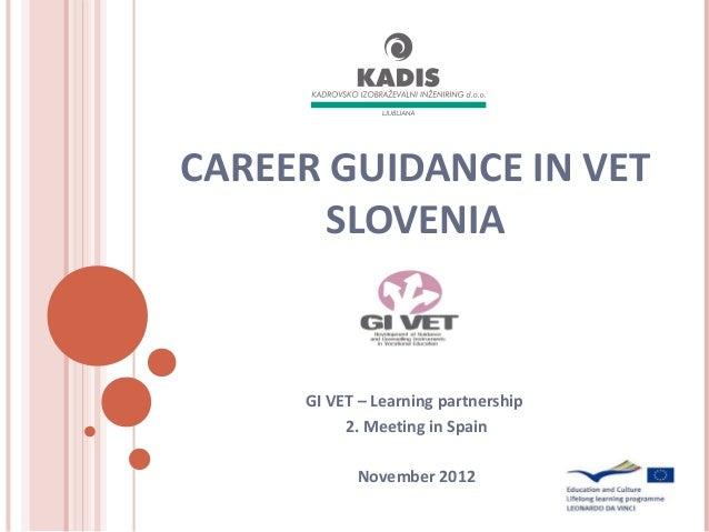 Career guidance in vet