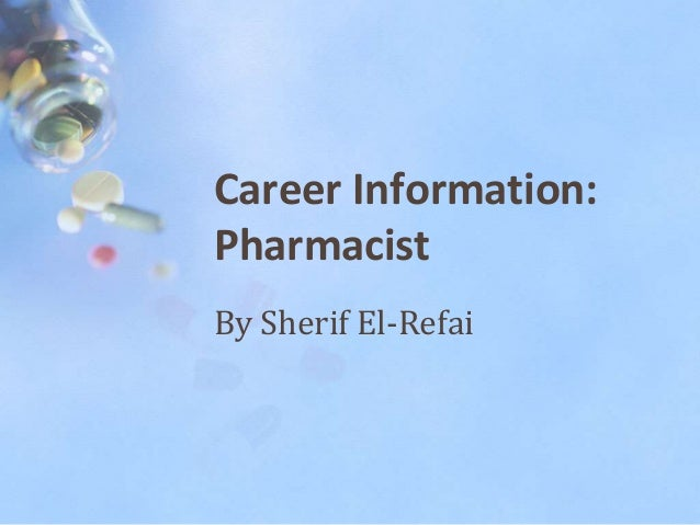pharmacist informative essay • for the pharmacist interview assignment, you must demonstrate your ability to analyze of the interview • the analysis must link what you learned in the interview with your.
