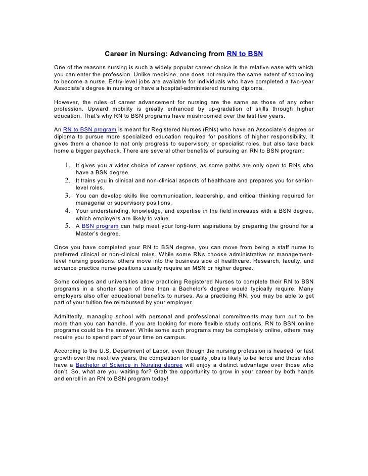 sample resume of registered nurse