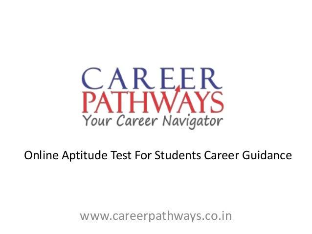 high school career test