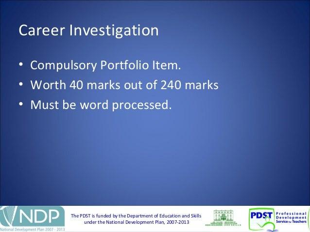 Career investigation