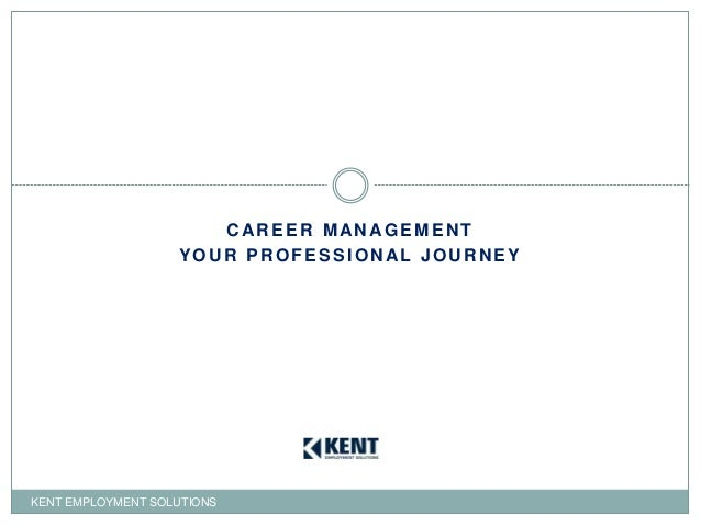 Career Management-Your Professional Journey