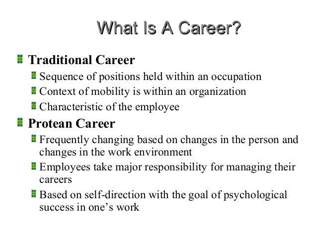 career management