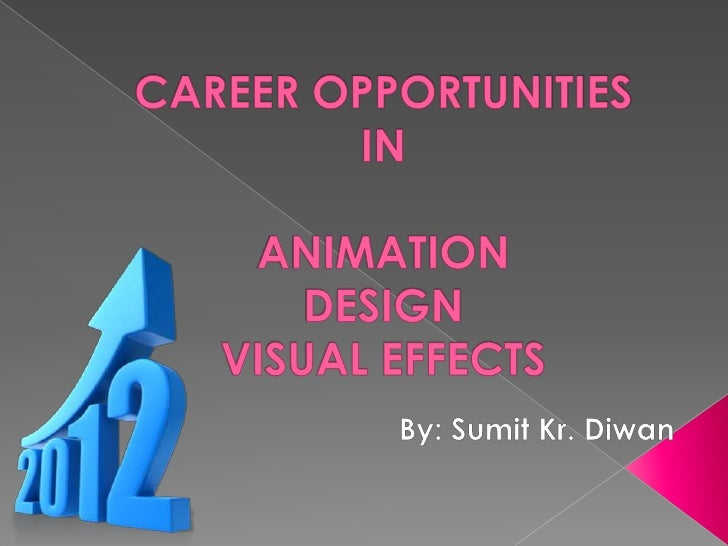 Future of Animation, design, visual effects Industry
