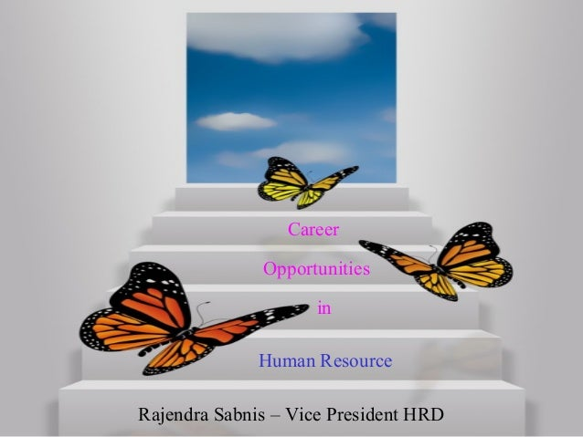 Career Avenues in HR field