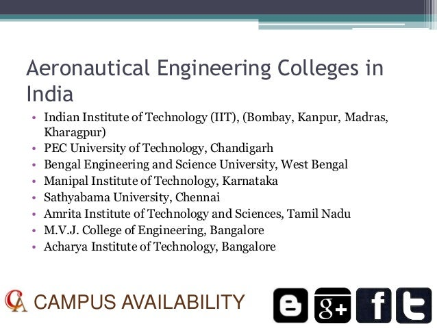 Aerospace Engineering Colleges : Career options and list of aeronautical engineering colleges