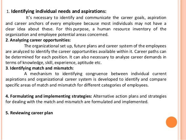 Career aspiration essay example