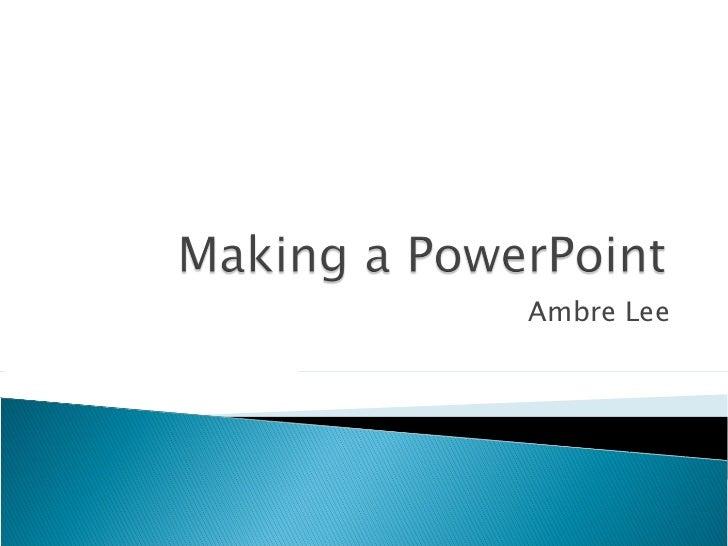 Career planning slide show