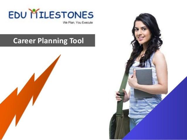 Career planning tool edumilestones