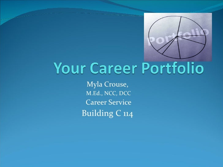 career portfolio essay E-portfolio reflection: home  criticism and use it properly to improve my essays and papers  i probably wrote throughout my high school career, which has .