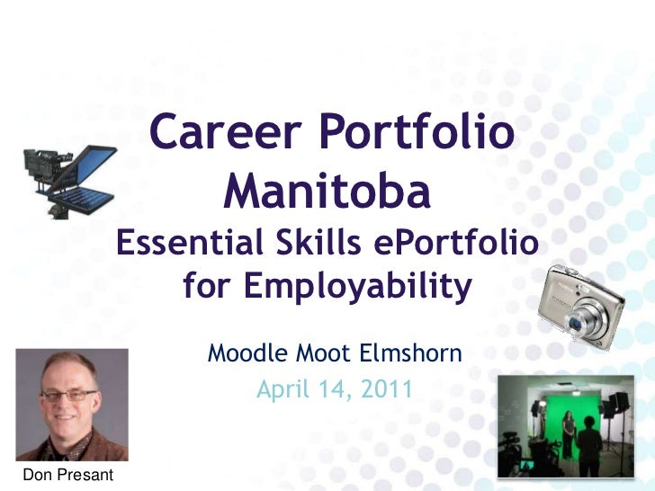 Career Portfolio                   Manitoba              Essential Skills ePortfolio                  for Employability   ...