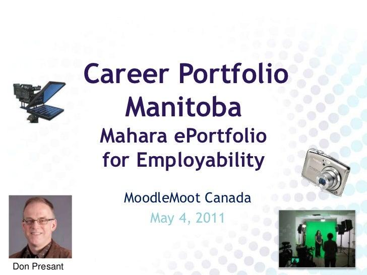 Career Portfolio Manitoba CanadaMoot 2011