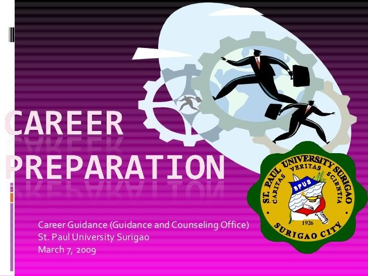 Career preparation 2009 2010