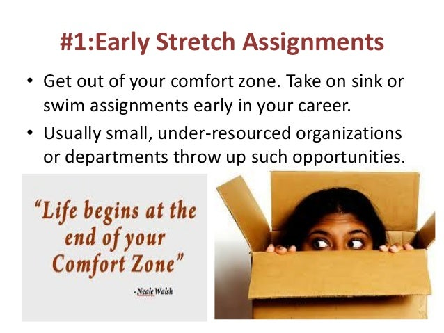 stretch assignment A stretch assignment is one way your employer can provide that path and keep you engaged in your role it's a nod that management recognizes your diligence, skill and talent and has confidence in your ability to take it to the next level.