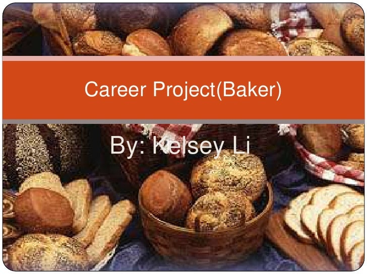 Career project(baker)