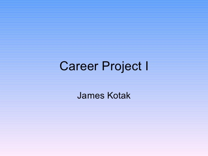 Career project i